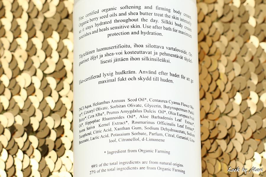 4 Mia Höytö Silkki ingredients raaka-aineet ainesosat