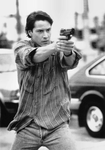 Keanu Reeves in Point Break (1991)
