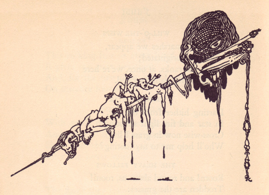 harry clarke s looking glass the public review decoration in faust by goethe 1925 source dssd