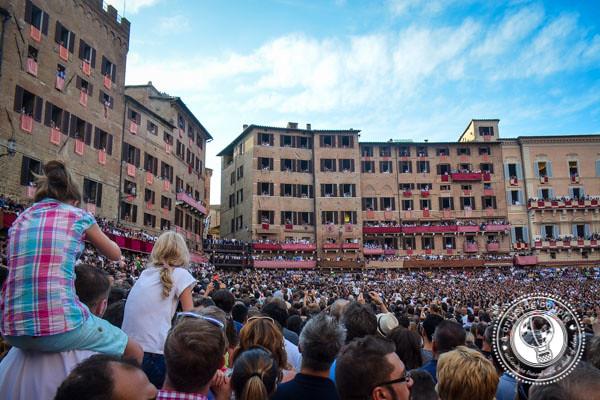 Palio Horse Race Siena Tuscany