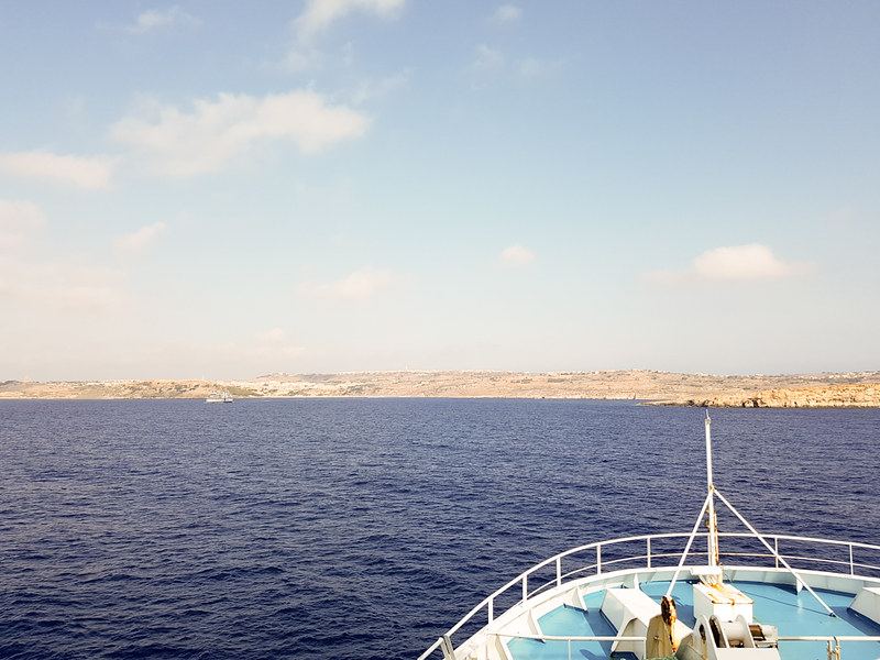 The World In My Pocket - Trip to Gozo - On the ferry to Gozo