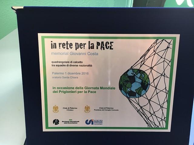 In rete per la Pace: memorial Gianni Costa
