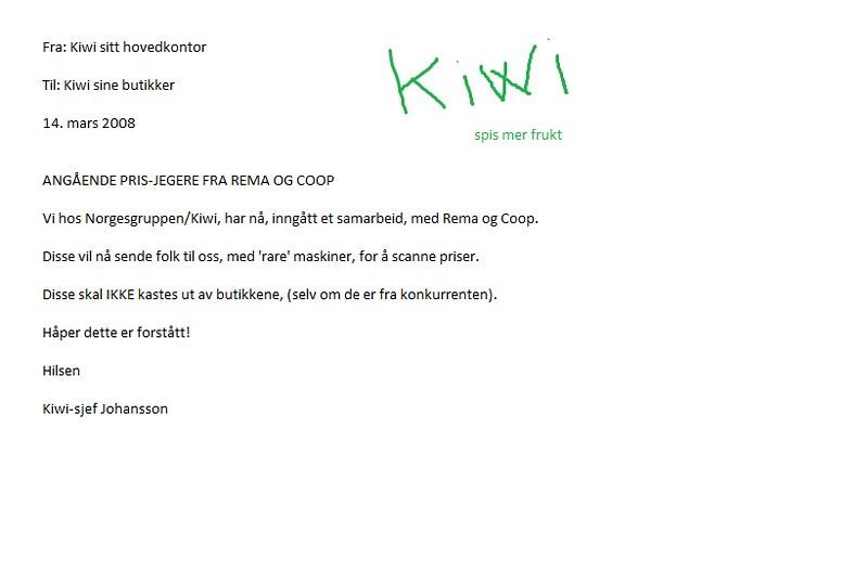 kiwi brev