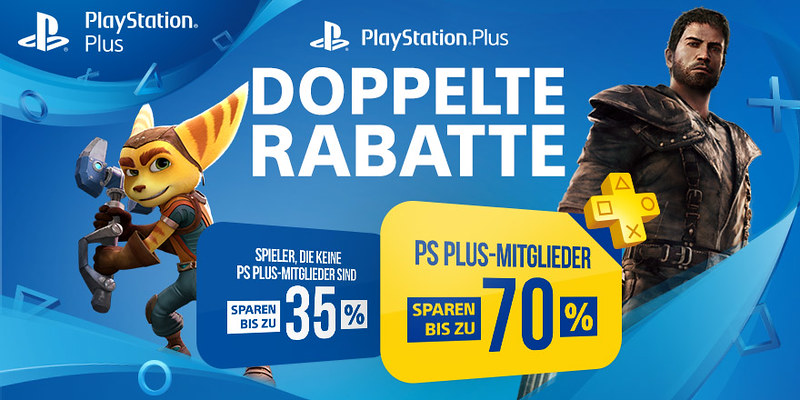 PS Plus Doppelte Rabatte
