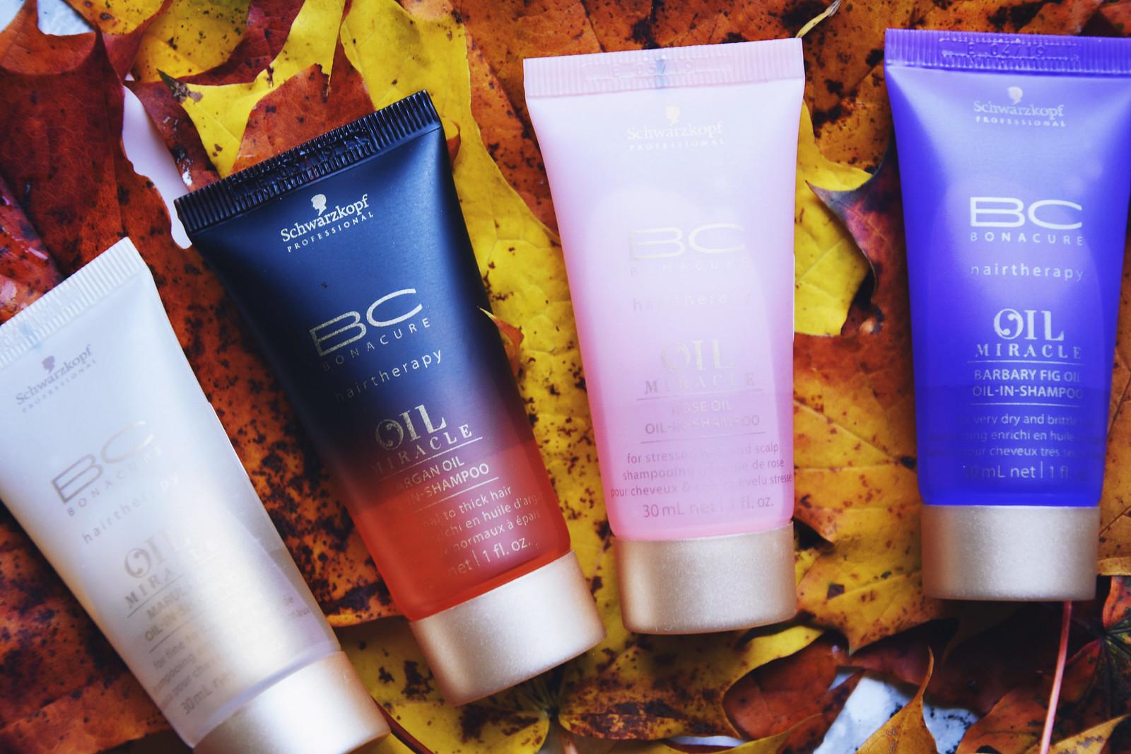 Schwarzkopf oil hairtherapy shampoo review