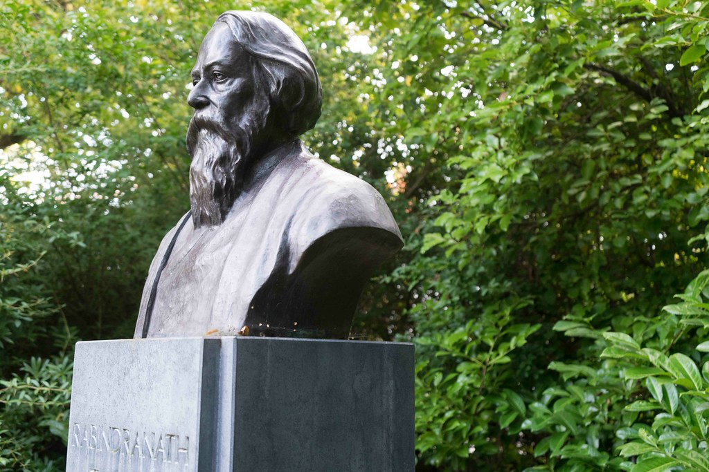 BUST OF RABINDRANATH TAGORE [STEPHENS GREEN] REF-1085633