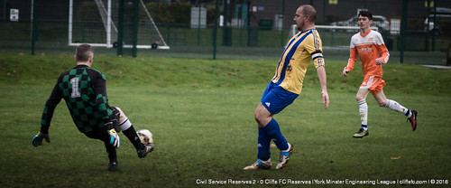 Cliffe FC 2ndXI vs. Civil Service Reserves 12Nov16