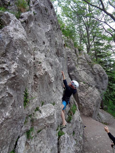 Peilstein - Luckete Wand