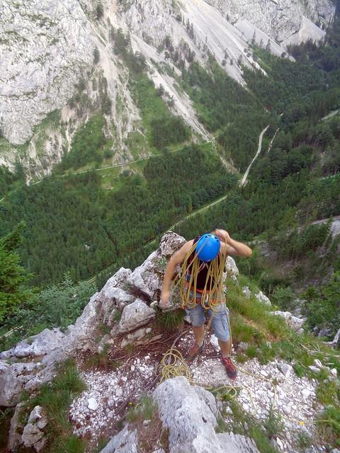Rax Klobenwand – De Oide Wurzn 240m (7-)