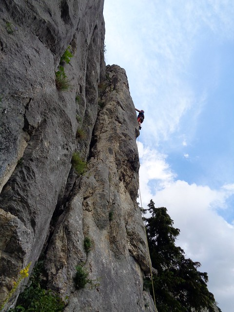 Hohe Wand – Überholspuren 160 m, (7+)