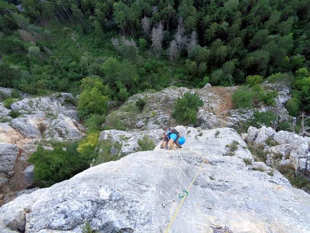 Hohe Wand – Der Alte Wolf + Neue Turnerbergsteiger Kante 180 m (7)