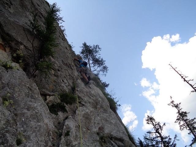 Rax Klobenwand – Nix für Suderer 180 m (6) – Ármin
