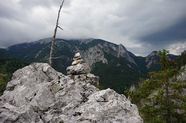 Rax Klobenwand – De Oide Wurzn 240m (7-) 20210715