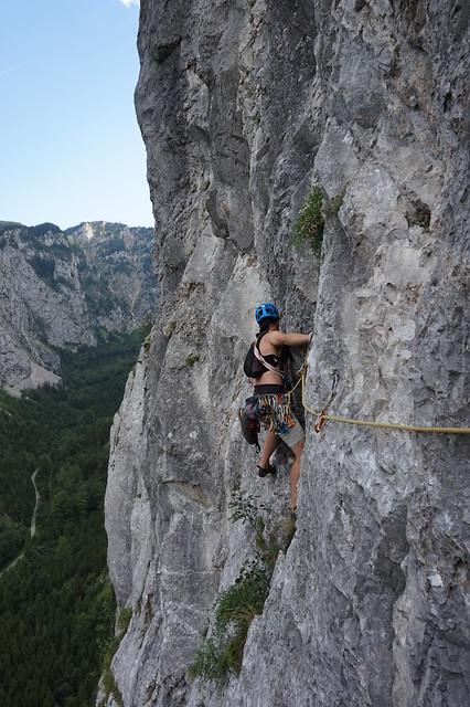 Rax Klobenwand – Nix für Suderer 190m (6) 20210729