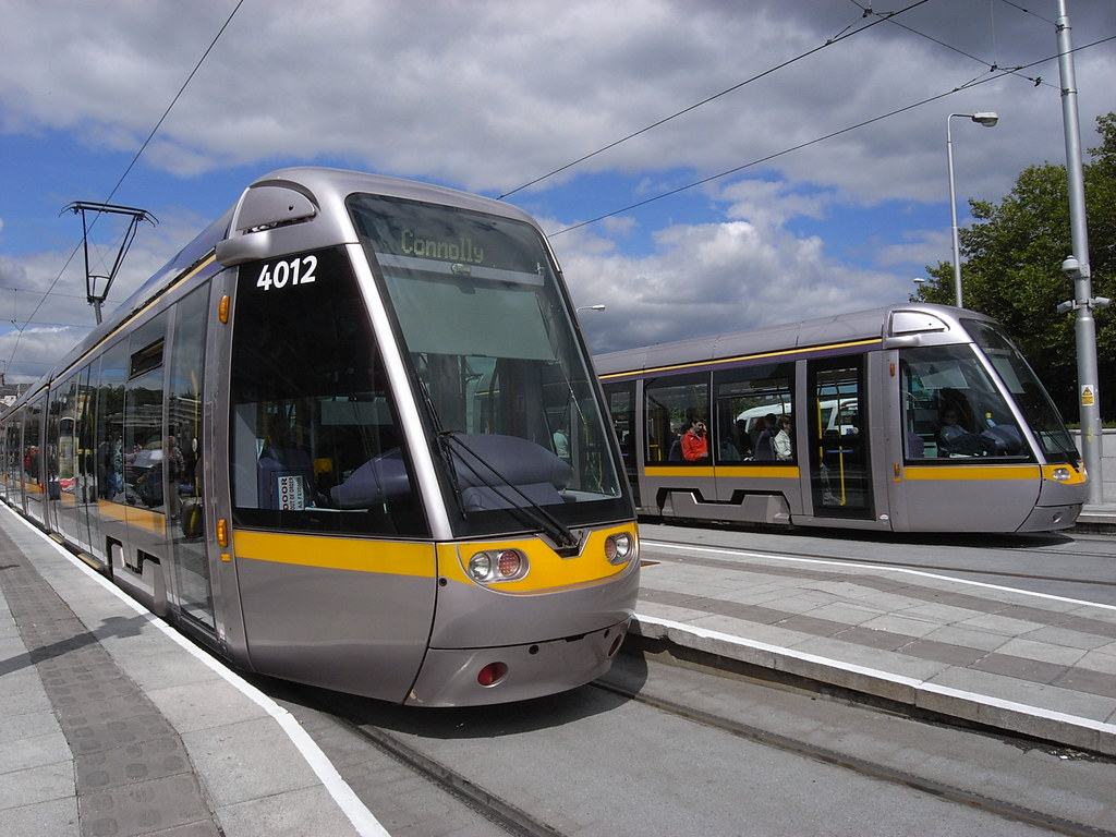 Luas trams