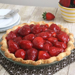 Fresh Strawberry Pie | by Tracey's Culinary Adventures