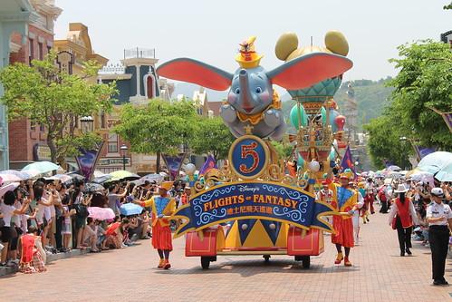 Flights of Fantasy Parade at Hong Kong Disneyland