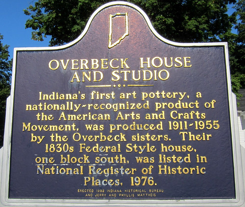 House and studio indiana s first art pottery a n flickr