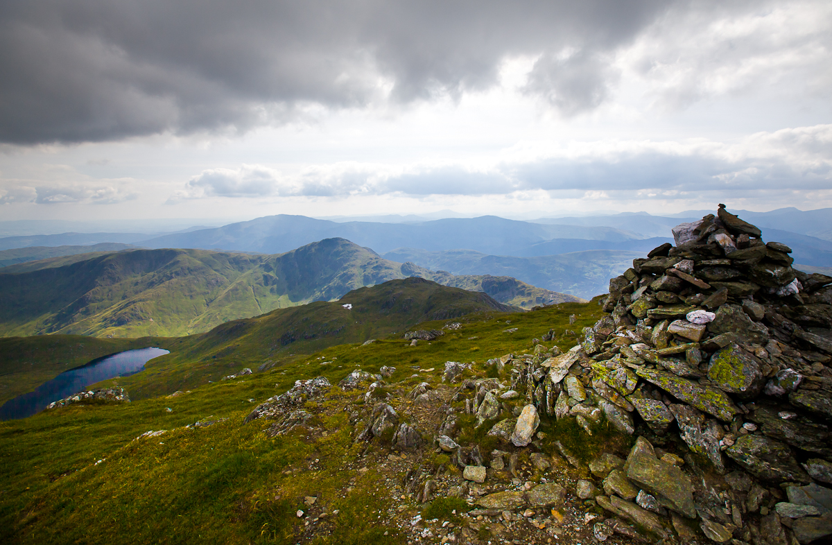 Stuc a'Chroin summit views