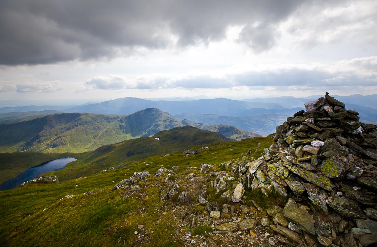 Stuc a'Chroin summit views