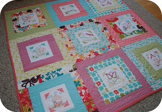 Embroidery 101: Finished Quilt | by Clover & Violet