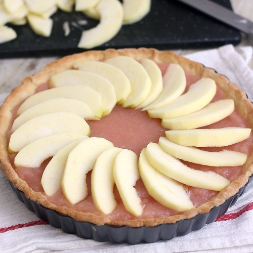 Normandy Apple Tart | by Tracey's Culinary Adventures