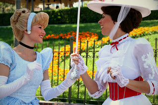 Cinderella and Mary Poppins | by Lizzi Farley