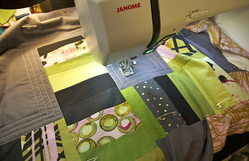 Quilting the Habitat Challenge quilt | by alissahcarlton