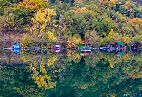 Reflection /Perućac Lake | by Irene Becker