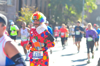 NYC Marathon / Clown | by 9brandon