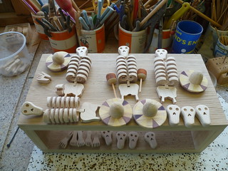 Day of the Dead skeletons 2012 in the making | by Wanda Sowry