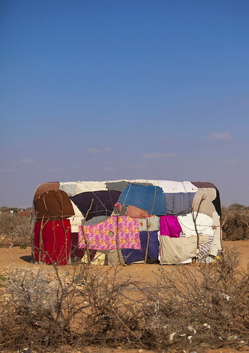 House patchwork -  Baligubadle - Somaliland | by Eric Lafforgue