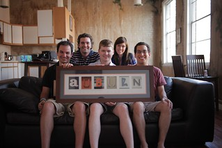 Crew: (left to right): Mike Cornelison, Jacob Fyfe, Robert Clay, Haley Robinson, Adam Schwartz | by Auburn University