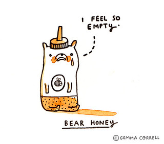 creatures of the kitchen - bear honey | by gemma correll