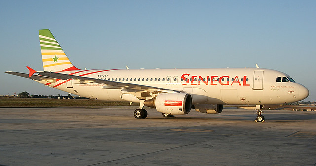 Senegal Airlines A320 6V-AII