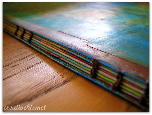 art journal binding | by Regina Lord (creative kismet)