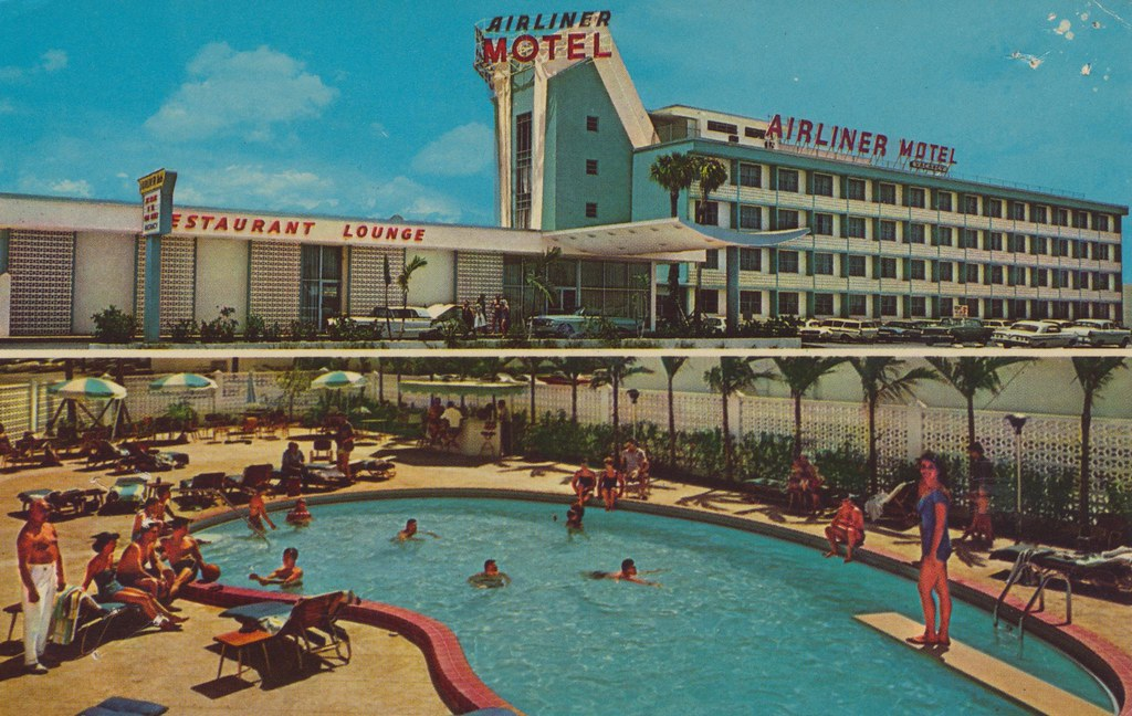 Airliner Motel - Miami, Florida