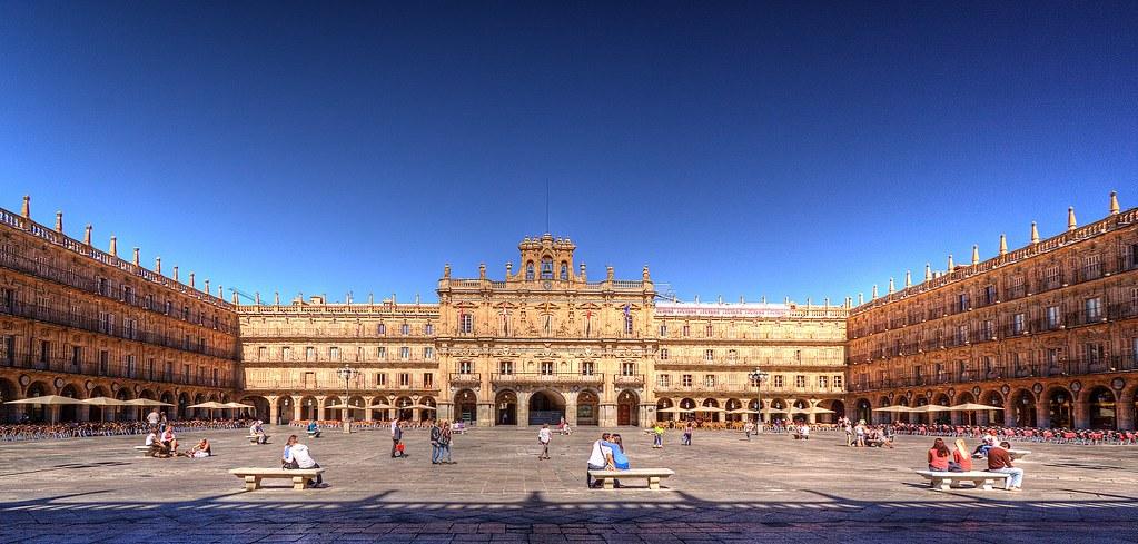 Plaza Mayor, em Salamanca