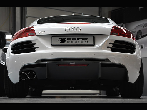 audi tt mk2 8j r8 style full body kit front bumper rear flickr. Black Bedroom Furniture Sets. Home Design Ideas