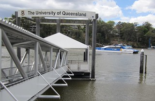 University of Queensland City Cat wharf | by Daniel Bowen