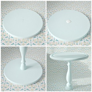 Making a cake stand - Glueing | by toriejayne