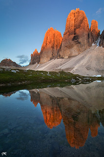 3 Cime Red Sunset | by Matteo Re