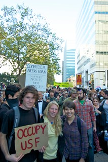 marching from occupy camp to the port | by lilyrothrock
