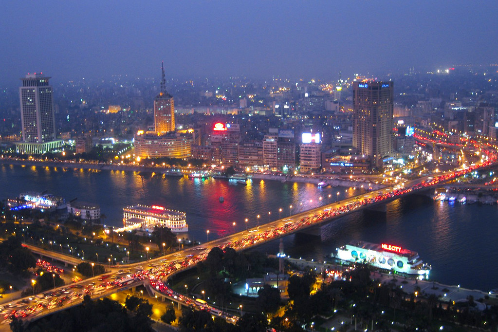 Cairo @ night