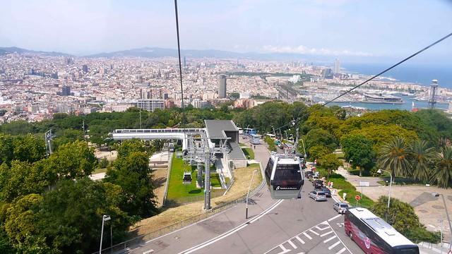 P1110098 Barcelone et le Telefèric de Montjuïc