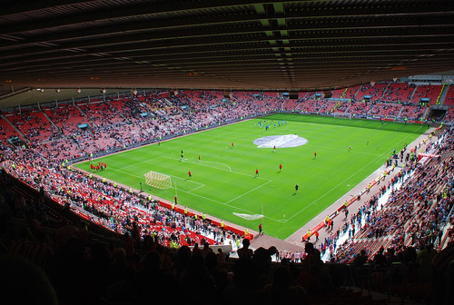 Sunderland vs Newcastle - Warmup