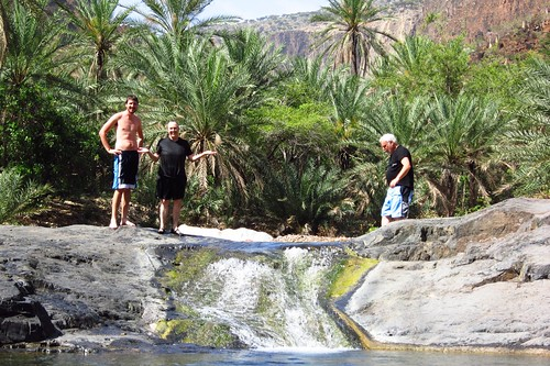 Swimming in Wadi Daerhu | by Gerry & Bonni