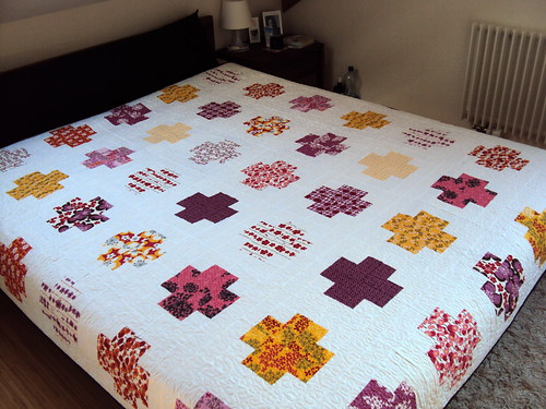 Pick a bunch log cabin quilt | by dinino68