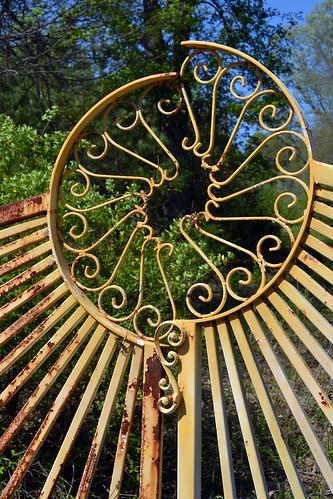 Rusty iron gates cheryl dillow flickr