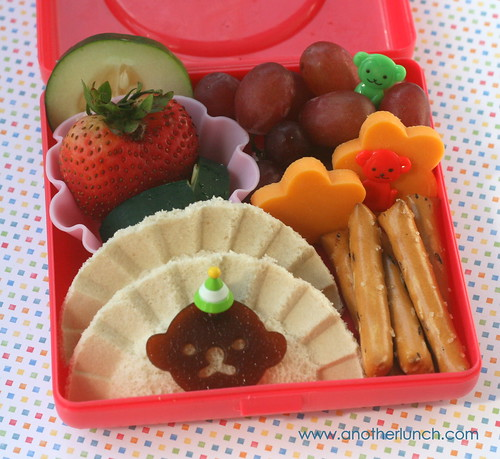 creepy little monkey bento | by anotherlunch.com